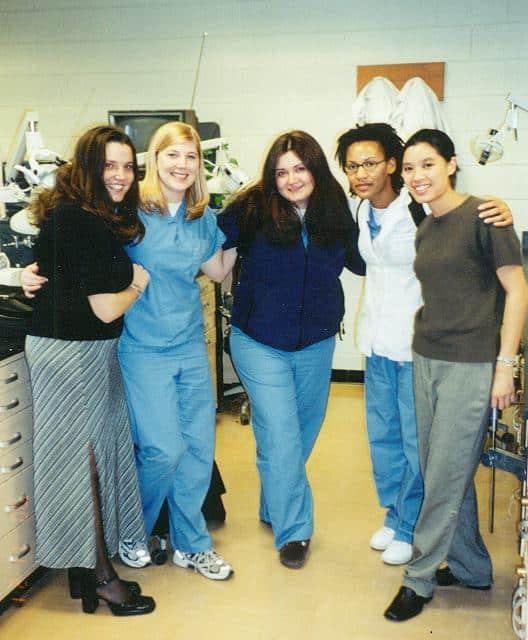 meredith parks at dental school
